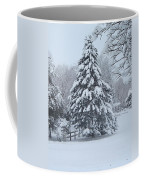 Snow Conifer 2-1-15 Coffee Mug