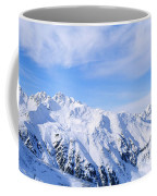 Snow Covered Alps, Schonjoch, Tirol Coffee Mug