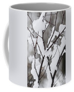 Snow Covered Branches Coffee Mug