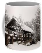 Snow Covered Bridge Coffee Mug