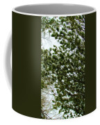 Snow Covered Pine Trees Coffee Mug
