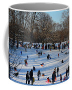 Snow Day - Fun Day At The Park Coffee Mug