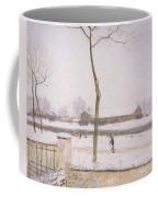 Snow Effect Effet De Neige Pastel On Paper C. 1880-1885 Coffee Mug