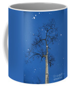 Snow Falling Where The Leaves Used To Be  Ethe  Coffee Mug