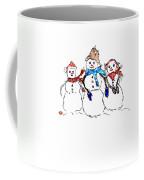 Snow Family Coffee Mug