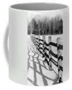 Snow Fence Coffee Mug