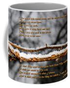 Snow From Heaven Coffee Mug
