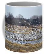 Snow Geese Coffee Mug