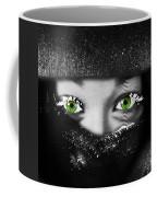 Snow Girl Square Coffee Mug