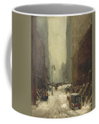 Snow In New York Coffee Mug