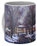 Snow In Silverado Dr Coffee Mug