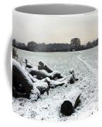 Snow In Surrey England Coffee Mug