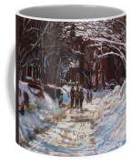 Snow In The City Coffee Mug by Jack Skinner