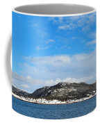 Snow In The Harbour Coffee Mug