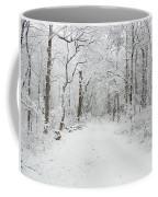 Snow In The Park Coffee Mug