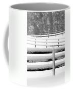 Snow In The Pasture Coffee Mug