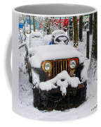 Snow Jeep Coffee Mug