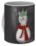 Snow Kitten Coffee Mug