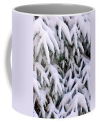 Snow Laden Branches Coffee Mug