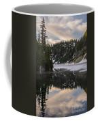Snow Lake Last Fog Coffee Mug