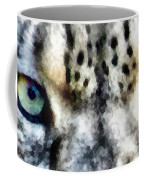 Snow Leopard Eyes Coffee Mug