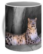 Snow Leopard II Coffee Mug