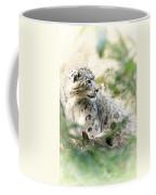 Snow Leopard Pose Coffee Mug