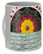 Snow Love Pop Art Coffee Mug