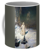 Snow Maiden 1899 By Vasnetsov  Coffee Mug by Movie Poster Prints
