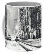 Snow - New York City - Winter Night Coffee Mug