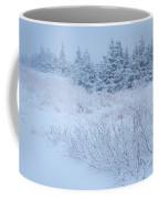 Snow On New Years Eve Coffee Mug