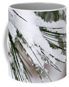 Snow On Pine Needles Coffee Mug