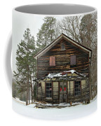 Snow On The General Store Coffee Mug
