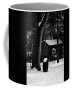 Snow On Tire Swing Coffee Mug