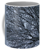 Snow On Twigs Coffee Mug