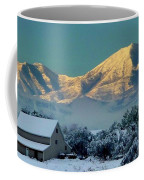 Snow On Utah Mountains Coffee Mug