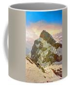 Snow Peaks Of Mount Titlis Coffee Mug