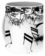 Snow Picnic Coffee Mug by Diana Angstadt