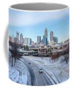 Snow Plowed Public Roads In Charlotte Nc Coffee Mug