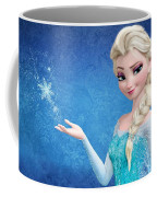 Snow Queen Elsa Frozen Coffee Mug