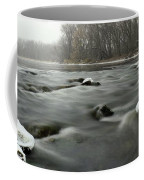 Snow Rapids Coffee Mug
