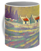 Snow Scape County Wicklow Coffee Mug by John  Nolan