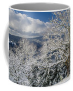 Snow Scene At Berry Summit Coffee Mug