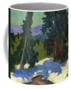 Snow Shadows Mammoth Mountain Coffee Mug