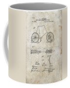 Snow Shoe Attachment For Bicycles Patent 1896 Coffee Mug