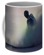 Snow Spray 6 Coffee Mug by George Pedro
