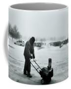 Snow Storm Minneapolis Coffee Mug