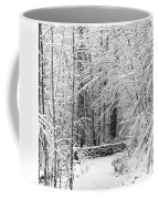 Snow Wall Coffee Mug