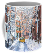 Snow West Village New York City Coffee Mug