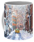 Snow West Village New York City Coffee Mug
